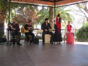 woensdag flamenco show Mijas
